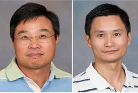 two male faculty members
