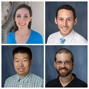 group of faculty headshots